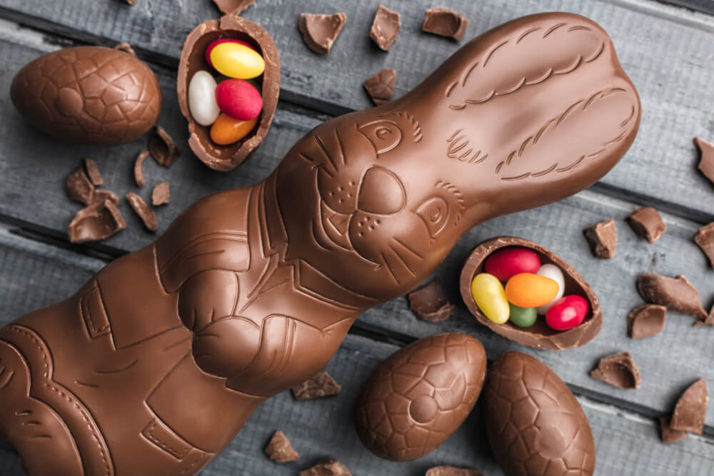 Chocolate on the Easter table