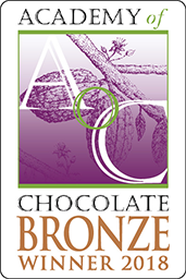 Academy of Chocolate Bronze Winner 2018