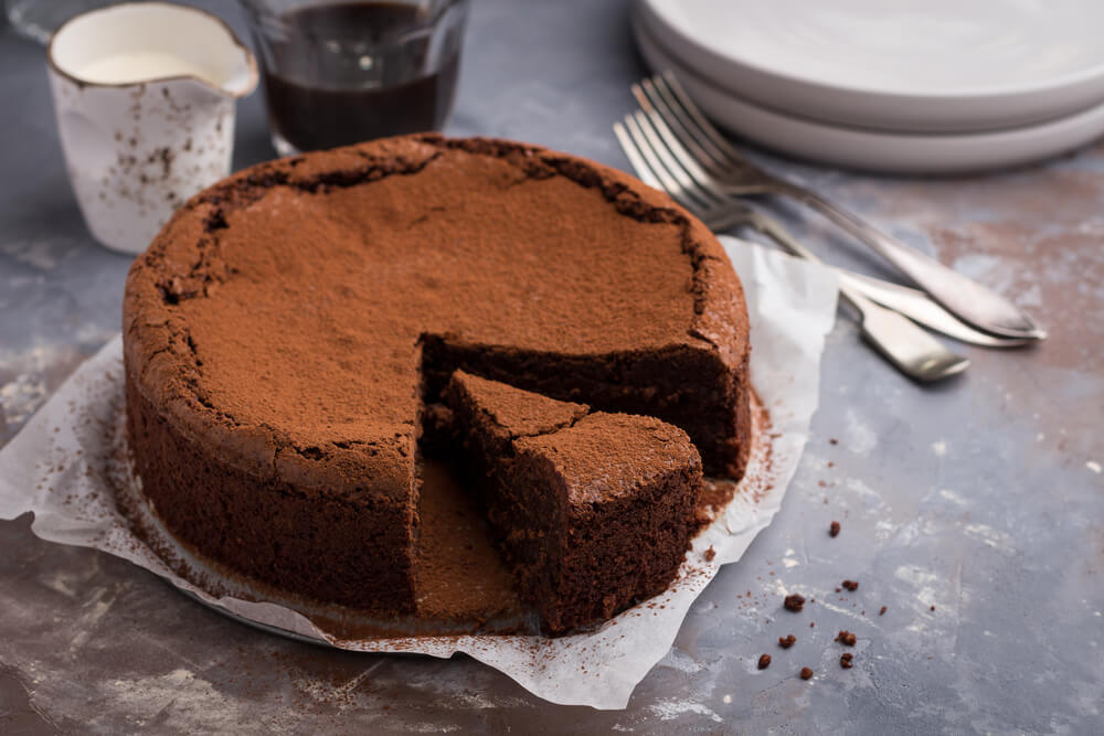 3 simple recipes for a gluten-free chocolate cake