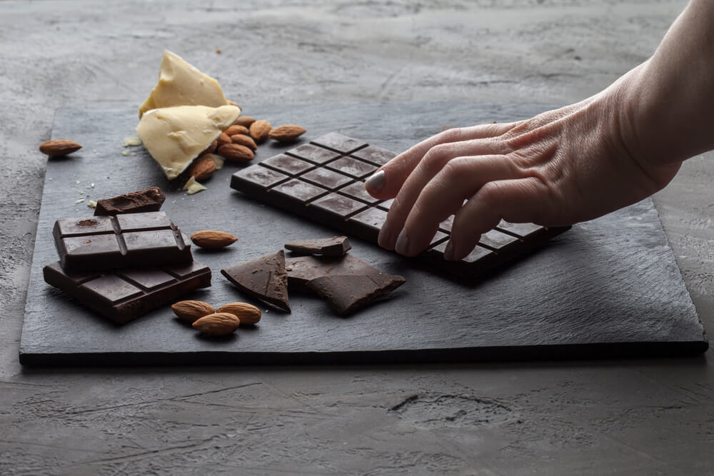 Do we have to give up chocolate if we want to eat healthy food?